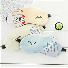 Cartoon Finger Comfort Ice-bag Eye Mask