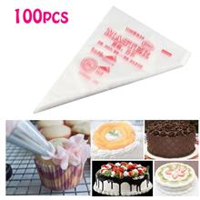Cake Decorating Disposable Icing Pastry Bag 100pcs