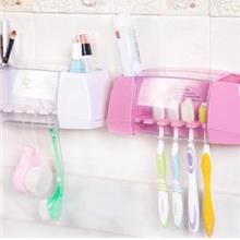 Creative Multi-function Toothpaste + Toothbrush Holder