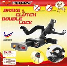 Toyota Hilux Revo 16-18 REDBAT 4in1 Double Pedal Lock with Plug n Play