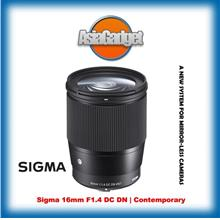 Sigma 16mm F1.4 DC DN Lens - Sony E Mount FREE Sandisk 32Gb Ultra