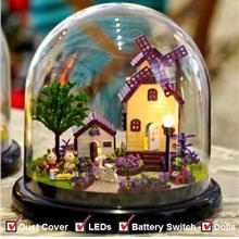 DIY Mini Miniature Together Around Series [Provence]+LED+Doll