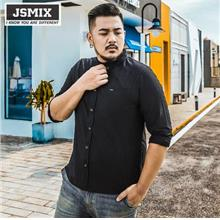 JSMIX Men's Plus Size (5XL~7XL) Cotton Long Sleeve Shirt 63JC0370
