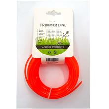 Trimmer line 2.4 mm x10 m square