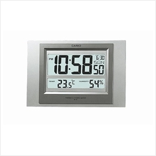 CASIO Digital Wall Clock Thermo & Hygrometer ID-16S-8