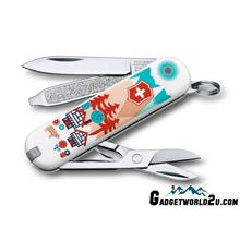 Victorinox Classic SD Swiss Village Multitool Pocket Knife 0.6223.L151