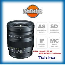 TOKINA 'FIRIN' 20mm F2 MF FOR SONY E MOUNT - FULL FRAME