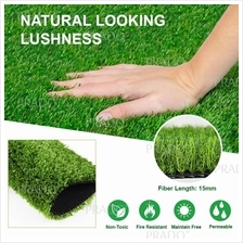 15MM Fake Grass Carpet Artificial Rumput Indoor Outdoor Decor