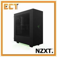 NZXT S340 ATX Mid Tower Gaming Case / Chassis Designed by Razer
