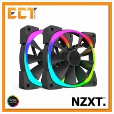 NZXT AER RGB Starter Pack 140mm RGB Fans for HUE 2 2 Fan Pack