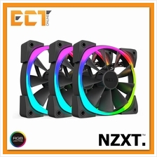 NZXT AER RGB 120mm RGB LED Fans for HUE+ 3 Fan Pack