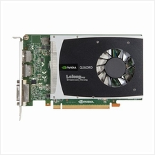 616075-001 NVIDIA Quadro 2000 PCIe graphics card - With 1GB GDDR5 GPU