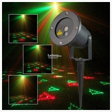 R&G Remote Christmas 12 Pattern IP65 Laser Projector Stage Light