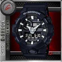 CASIO G-SHOCK GA-700-1B WATCH ☑ORIGINAL☑