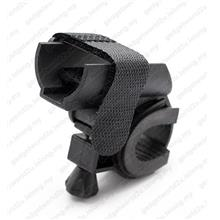 Velcro Bicycle Adjustable Round Mount for Flashlight