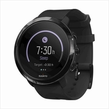 SUUNTO 3 Fitness All Black HR GPS Sports SS050020000 Men Watch