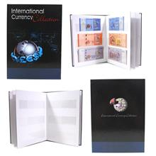 Currency Collection Bank Note Paper Money Album Holders