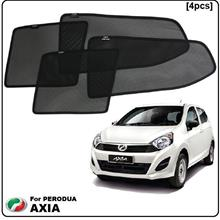 Perodua Axia Custom Fit OEM Sunshades (4pcs)