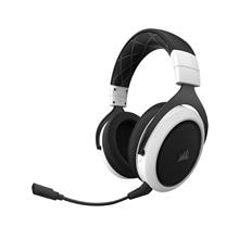 Corsair HS70 Wireless Gaming Headset with 7.1 Surround Sound | White