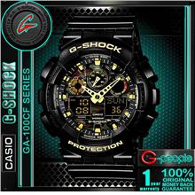 CASIO G-SHOCK GA-100CF-1A9 CAMOUFLAGE WATCH ☑ORIGINAL☑