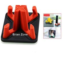 Remax RM-C25 Non Slip Washable Pyramid Car and Phone Holder (Red)