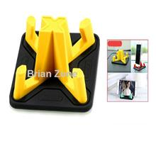 Remax RM-C25 Non Slip Washable Pyramid Car and Phone Holder (Yellow)