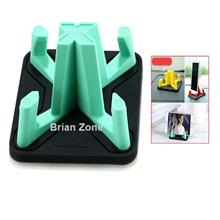Remax RM-C25 Non Slip Washable Pyramid Car and Phone Holder (Green)