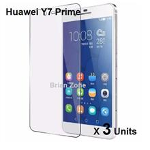 3 UNITS HUAWEI Y7 PRIME TEMPERED GLASS