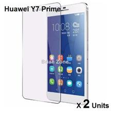 2 UNITS HUAWEI Y7 PRIME TEMPERED GLASS
