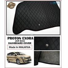 Proton Exora Air Bag Hole Dashboard Cover Black with Oem Emblem
