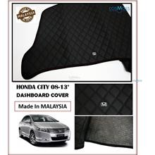 Honda City 2008-2013 Dashboard Cover Black with Oem Emblem