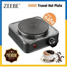 500W Cooker Multipurpose Heat Adjustable Electric Hot Cooking Plate