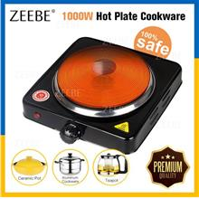 1000W Multipurpose Cooker Heat Adjustable Pot Electric Hot Cooking Pla