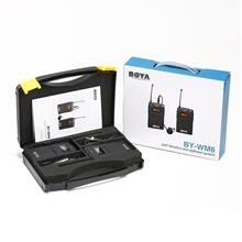 BOYA BY-WM6 UHF wireless microphone system Full set Ready stock