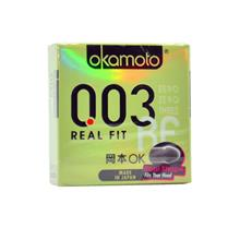 OKAMOTO 003 REAL FIT CONDOM 3'S PACK