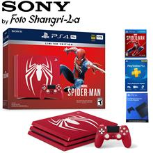 Sony Playstation 4 Pro 1TB / PS4 Pro 1TB Marvel 's Spider-Man Limited Ed