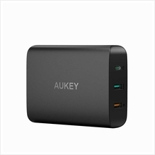 Aukey PA-Y13 74.5W USB C Power Delivery 3.0  & QC 3.0 Desktop Charger
