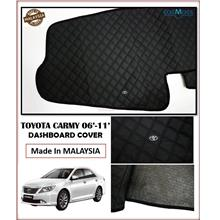 Toyota Camry 2006-2011 Dashboard Cover Black with Oem Emblem