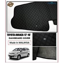 Toyota Avanza 2012-2016 Dashboard Cover Black with Oem Emblem