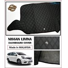 Nissan Livina Dashboard Cover Black with Oem Emblem