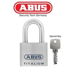 ABUS High Quality Titalium Padlock 96TI/50 with Special Mobile keys