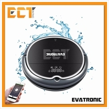 Evatronic Q8000 Robot Vacuum Cleaner with Water Tank, WiFi APP Control