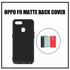 OPPO F9 Slim Matte TPU Back Shockproof Cover Case