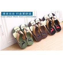 MKS72 Korean Men Fashion Slippers Sandals
