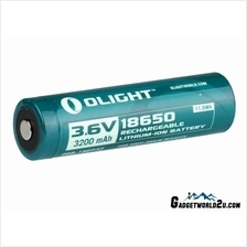 Olight 18650 3.7V 3200mAh Protected Rechargeable Li-ion Battery