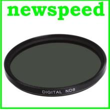 New 37mm ND8 Neutral Density Lens Filter / 3 f-stop