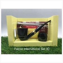 Falcon International 6mm Filter Pipe Set 3C (1 stem + 2 bowls)-FREE Shipping