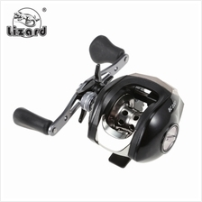 Lizard 17 + 1BB 7.1:1 Left / Right Hand Fishing Baitcasting Reel (BLACK