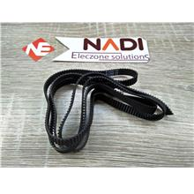 1 Meter Timing Belt - 2GT 6mm 3D printer Opening With Rubber Opening Belt