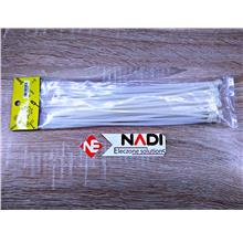 White Cable Tie Size 4x250mm Quantity 50 pcs